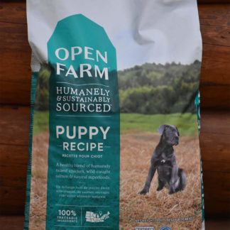 Open farms puppy dog food