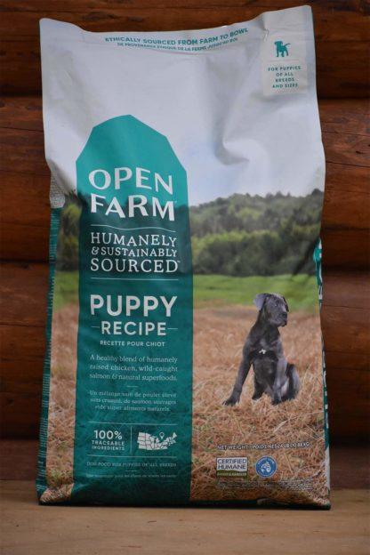 Open farms puppy dog food