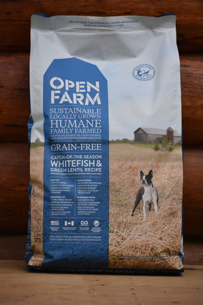 open farms whitefish dog food
