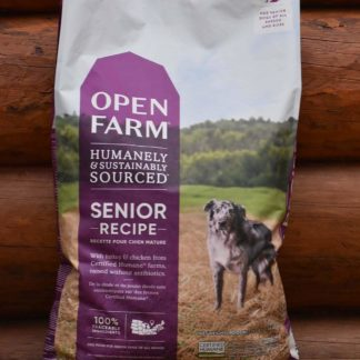 Senior recipe dog food open farms