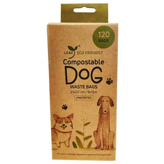Leaf Eco Friendly Compostable Dog Waste Bags