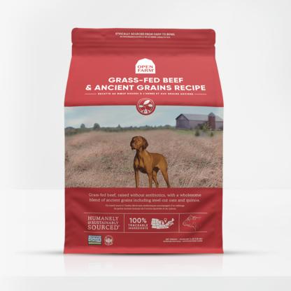 Open Farms: Pasture-Raised Beef; Ancient Grains Dry Dog Food 1 Open Farms: Pasture-Raised Beef; Ancient Grains Dry Dog Food