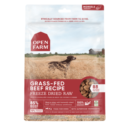 Open Farm Dog Freeze Dried Raw Grass-Fed Beef 1 Open Farm Dog Freeze Dried Raw Grass-Fed Beef