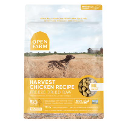 Open Farm Dog Freeze Dried Raw Harvest Chicken 1 Open Farm Dog Freeze Dried Raw Harvest Chicken