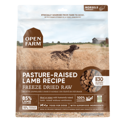 Open Farm Dog Freeze Dried Raw Pasture Raised Lamb 1 Open Farm Dog Freeze Dried Raw Pasture Raised Lamb