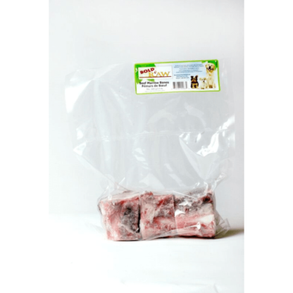 Bold Raw Dog Frozen Beef Marrow Bones 3 pk 1 Bold Raw Dog Frozen Beef Marrow Bones 3 pk