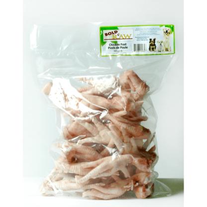 Bold Raw Dog Frozen Whole Chicken Feet 2 lb 1 Bold Raw Dog Frozen Whole Chicken Feet 2 lb